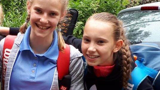 Malin Buchhop und Janna Adolph bei den Jugend Landesmeisterschaften