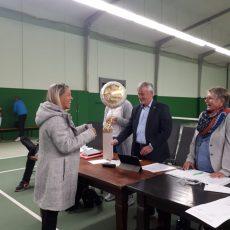 Staffelübergabe bei der Celler Tennisvereinigung